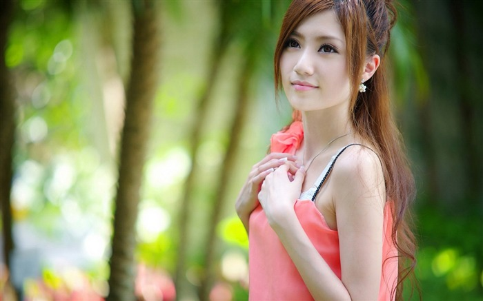 Pretty oriental pure beauty photo wallpaper Views:25252
