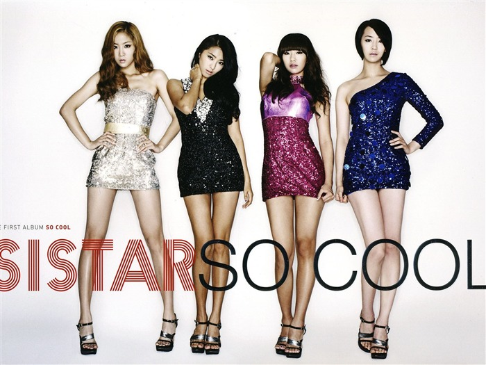 Sistar Korean girls singer photo wallpaper Views:21824
