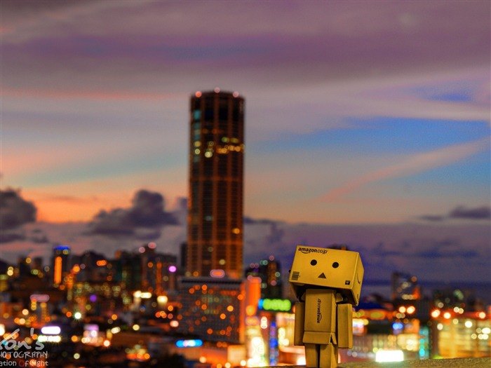 Sunset City-Danbo Photography Wallpaper Views:4369