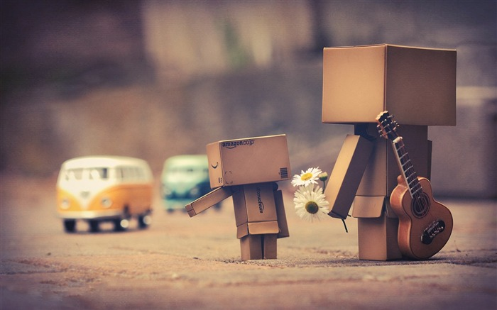 The memory of the guitar-Danbo Photography Wallpaper Views:5547