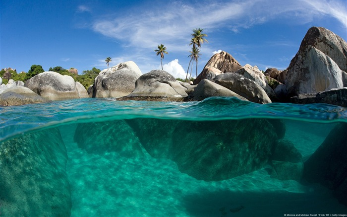 Virgin Gorda Bath-Windows Nature Wallpaper Views:3838