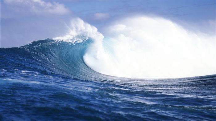 Mac os x Mavericks Wallpaper 1440x900 Waves-mac os x Mavericks hd
