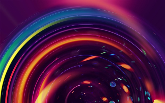 circles colorful lines bright-design wallpaper Views:3924