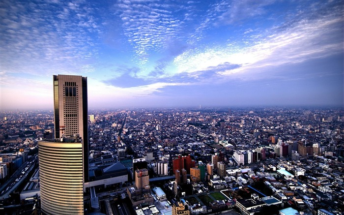 city sky view from above-cities HD Wallpaper Views:3218