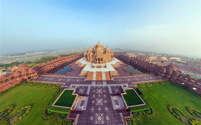 india akshardham temple-cities HD Wallpaper Views:3569
