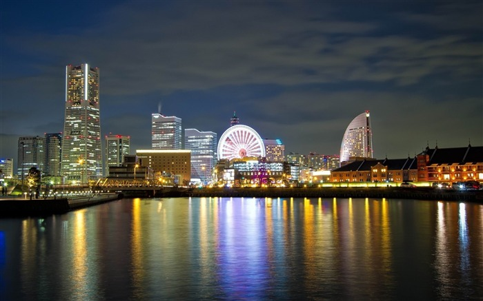 japan sky yokohama-cities HD Wallpaper Views:6390
