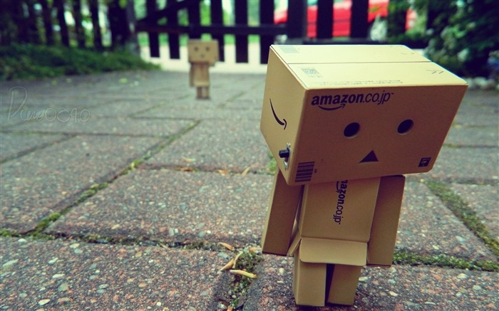 lonely city-Danbo Photography Wallpaper Views:2720