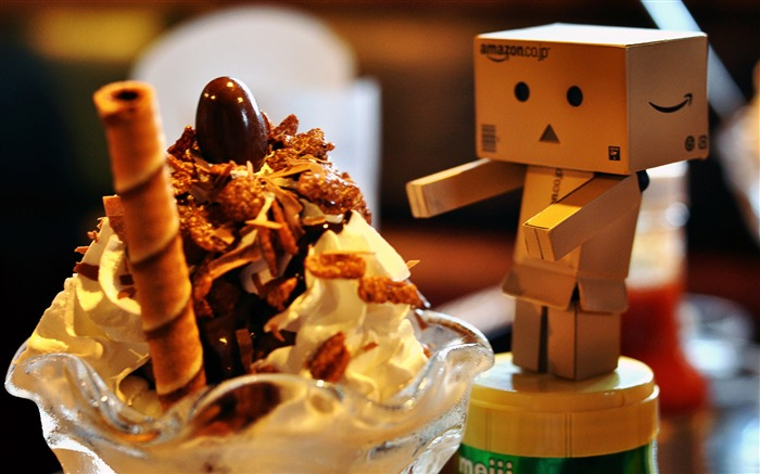 Cute Danbo Photography Wallpaper Views:12699