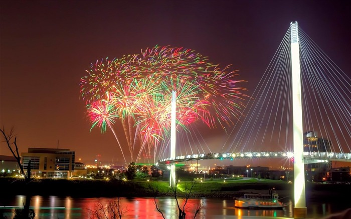 missouri buildings fireworks-cities HD Wallpaper Views:3814