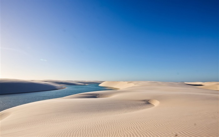 sand water sky-Nature HD Wallpaper Views:3094