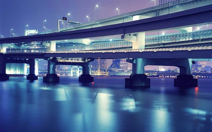 tokyo bridge beautiful-cities HD Wallpaper Views:2248