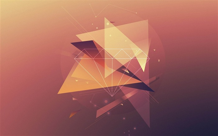 triangles lines fade-design wallpaper Views:2158