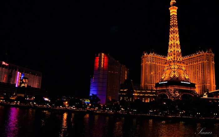vegas night-cities HD Wallpaper Views:2669