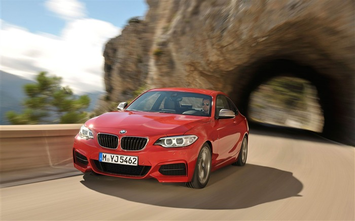 2014 BMW M235i Coupe Car HD Wallpaper Views:6696
