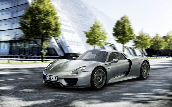 2014 Porsche 918 Spyder Car HD Wallpaper Views:10704