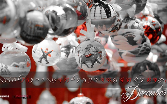 Christmas Decorations-December 2013 Calendar Wallpaper Views:4891 Date:11/30/2013 6:39:11 AM