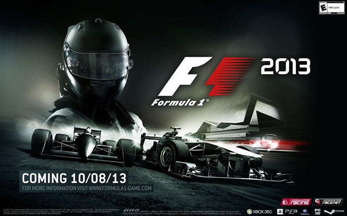 Formula 1 F1 2013 Game HD Wallpaper Views:8018