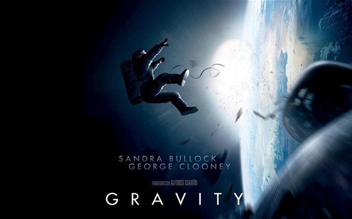 Gravity 2013 Movie HD Wallpaper Views:16267