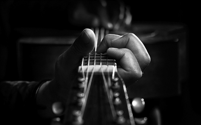 Guitar-Music HD Wallpaper Views:4041