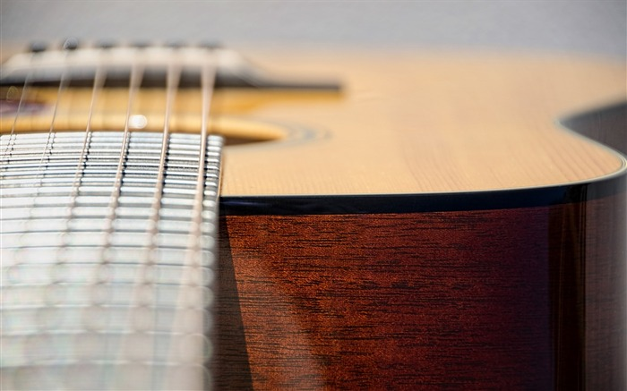 Guitar close-up-Music HD Wallpaper Views:3768