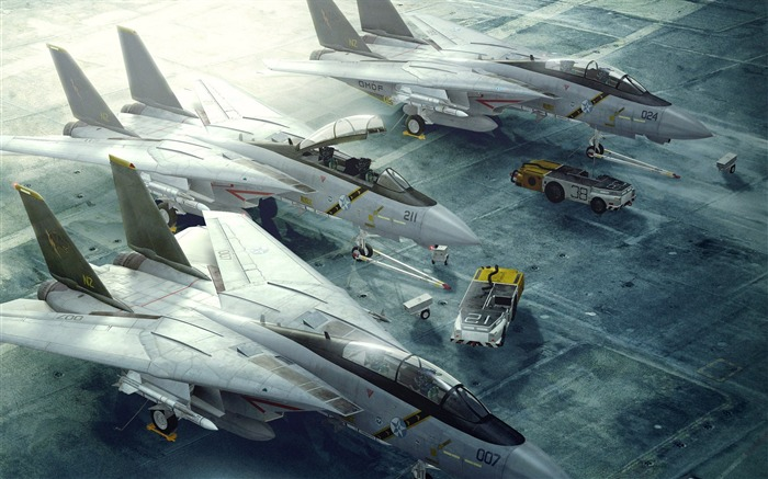 Military aviation fighter Widescreen Wallpaper 06 Views:3636