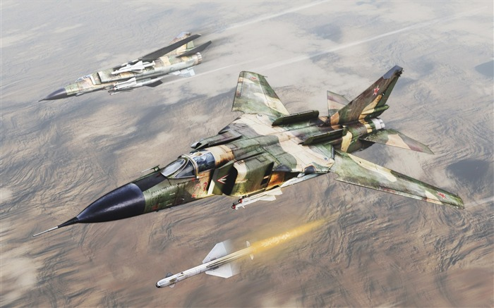 Military aviation fighter Widescreen Wallpaper 13 Views:3445