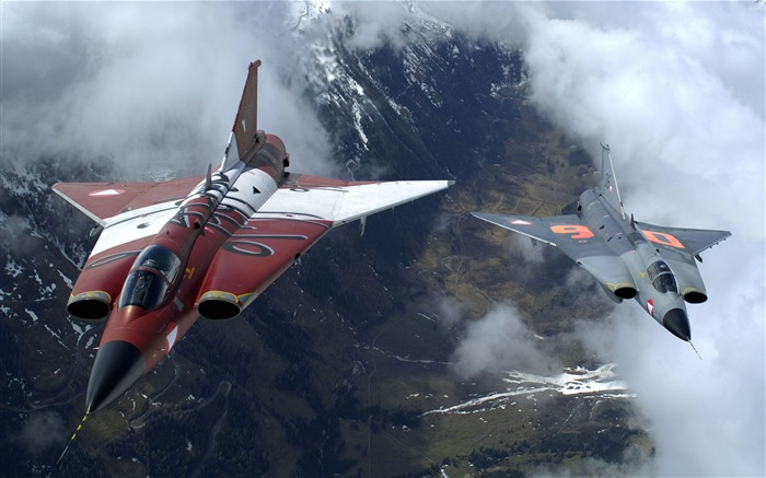 Military aviation fighter Widescreen Wallpaper 16 Views:2201