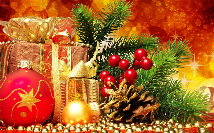 Merry Christmas Holiday Theme HD Desktop Wallpaper Album