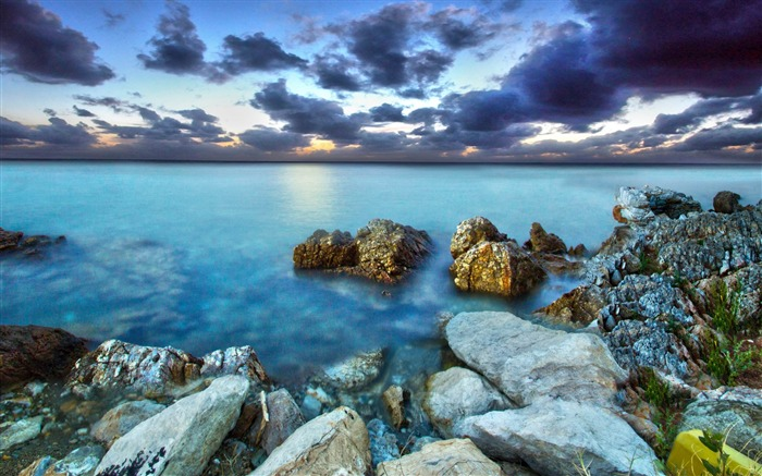 sea rocks sky-Nature HD Wallpapers Views:6600 Date:11/14/2013 9:23:33 AM