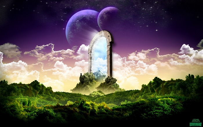 Dreamy Fantasy Art Design HD Wallpaper Views:8870
