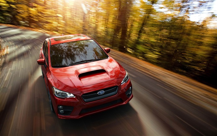 2015 Subaru WRX Car HD Wallpaper Views:4338