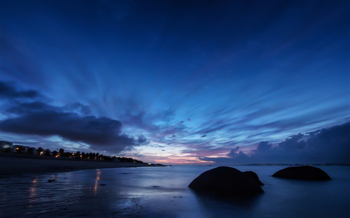 China Coast sunrise landscape photography wallpaper 02 Views:2678