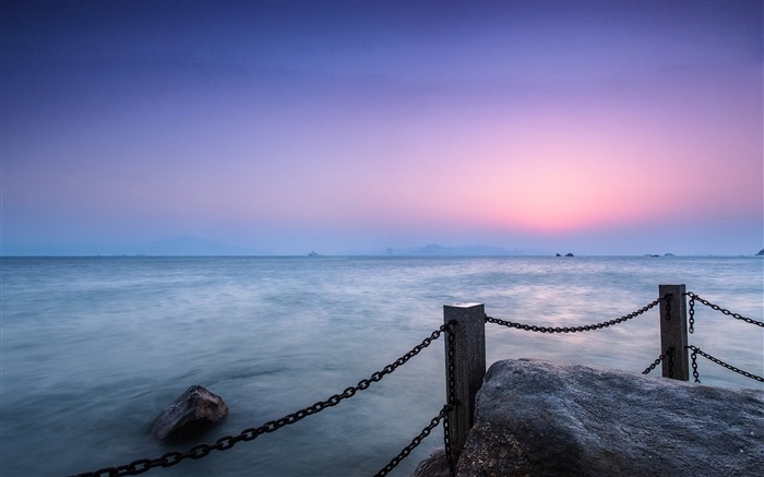 China Coast sunrise landscape photography wallpaper 05 Views:3052