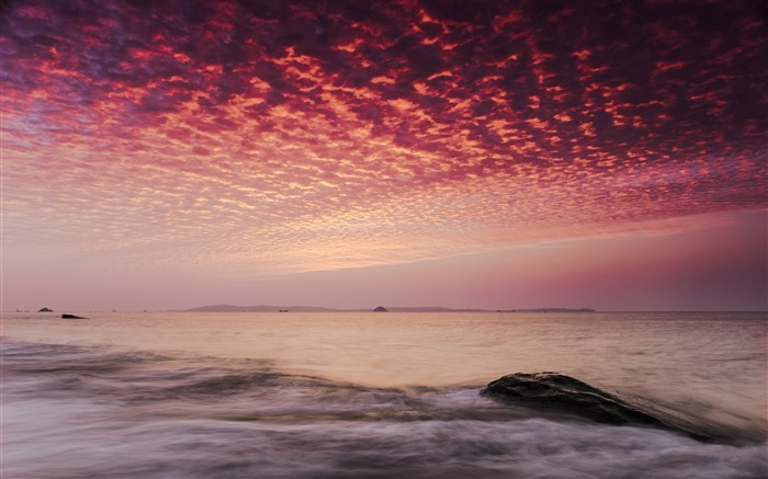 China Coast sunrise landscape photography wallpaper 06 Views:3119