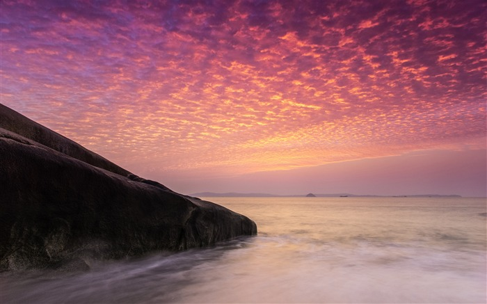 China Coast sunrise landscape photography wallpaper 07 Views:2805