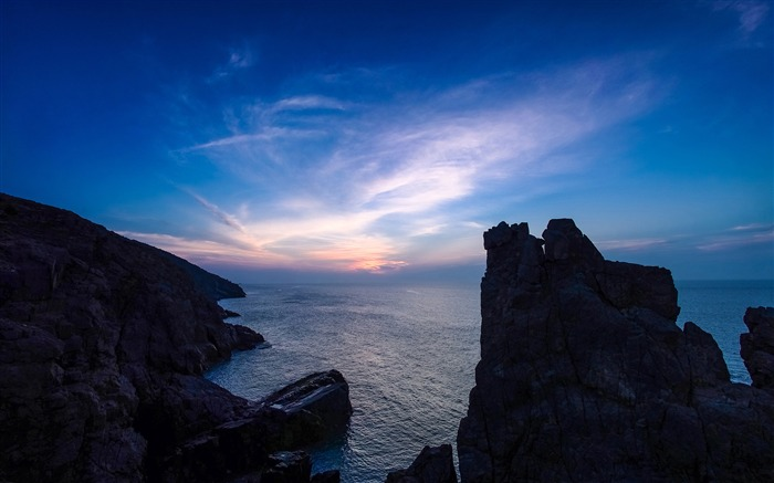 China Coast sunrise landscape photography wallpaper 09 Views:3308