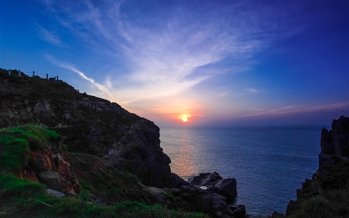 China Coast sunrise landscape photography wallpaper 10 Views:3304