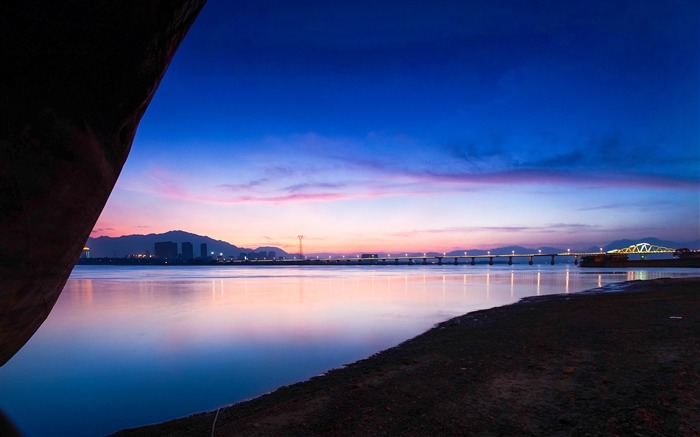 China Coast sunrise landscape photography wallpaper 11 Views:3355