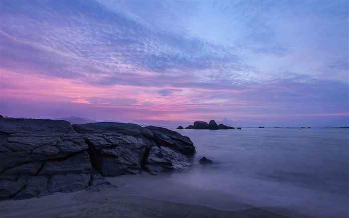 China Coast sunrise landscape photography wallpaper 12 Views:3440