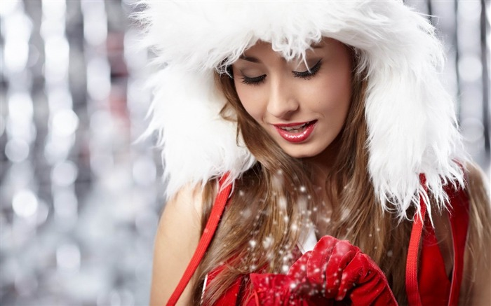 Merry Christmas festive theme HD Wallpapers Views:9160