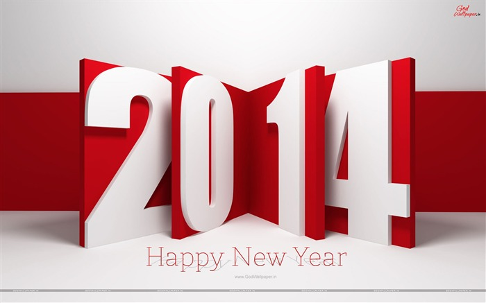 Happy New Year 2014 theme desktop Wallpapers 02 Views:3257