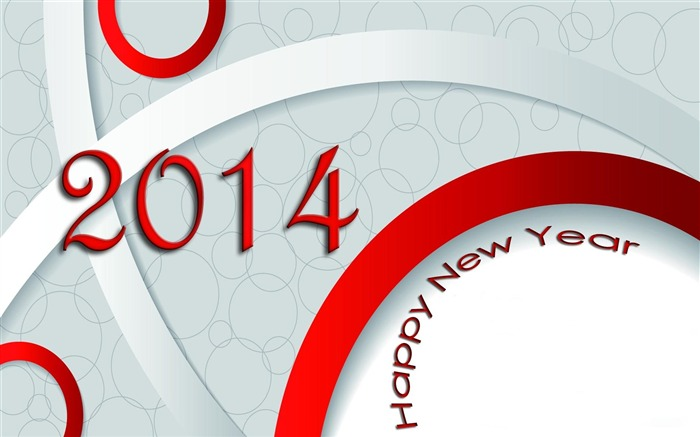 Happy New Year 2014 theme desktop Wallpapers 04 Views:2965