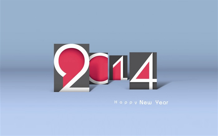 Happy New Year 2014 theme desktop Wallpapers 07 Views:2991