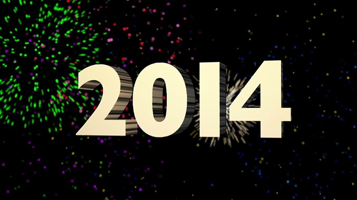 Happy New Year 2014 theme desktop Wallpapers 11 Views:2642