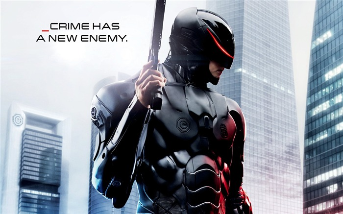 Robocop 2014 Movie HD desktop wallpaper Views:11356