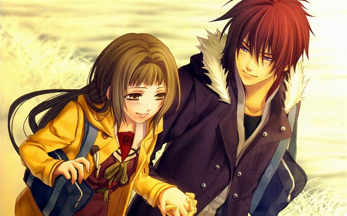hiiro no kakera guy girl-HD Design Wallpaper Views:3515