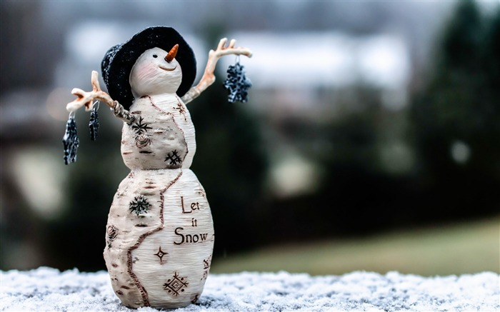 winter snowman toy-HIGH Quality Wallpaper Views:2306