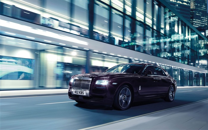 2015 Rolls Royce Ghost V-Specification HD Wallpaper Views:4861