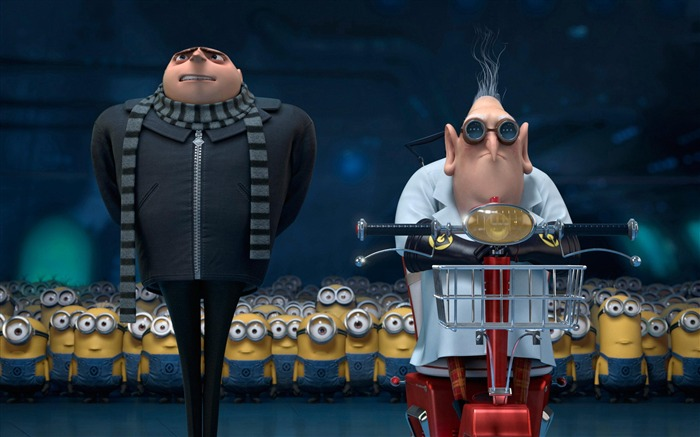 Despicable Me 2 Movie Widescreen HD Wallpaper 06 Views:3005