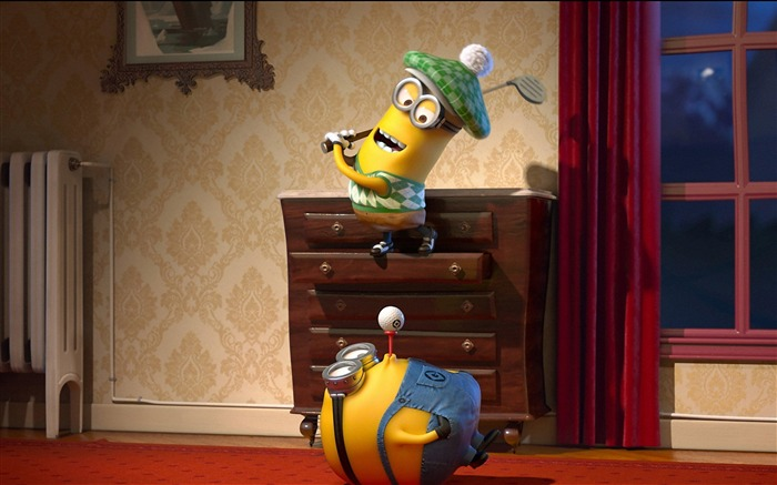 Despicable Me 2 Movie Widescreen HD Wallpaper 10 Views:3053